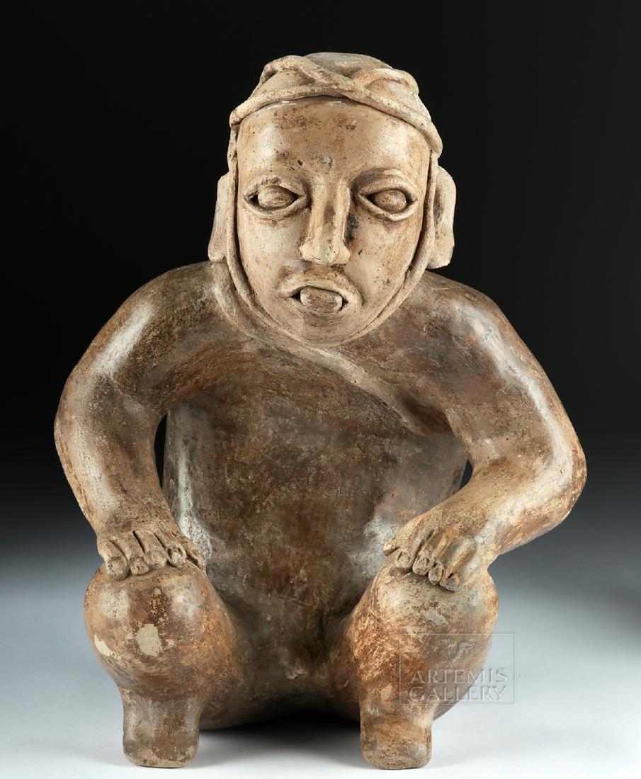 Jalisco Ameca Pottery Figure - Deceased Warrior - 2