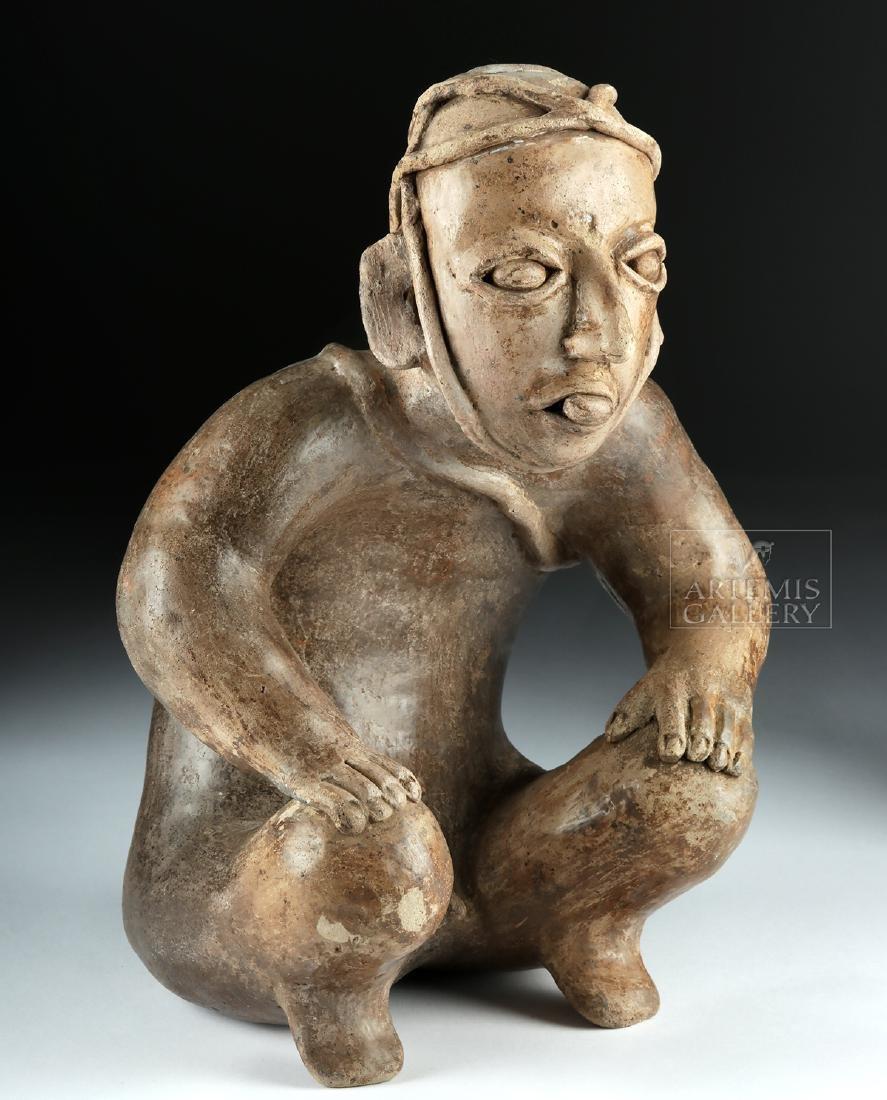 Jalisco Ameca Pottery Figure - Deceased Warrior - 3