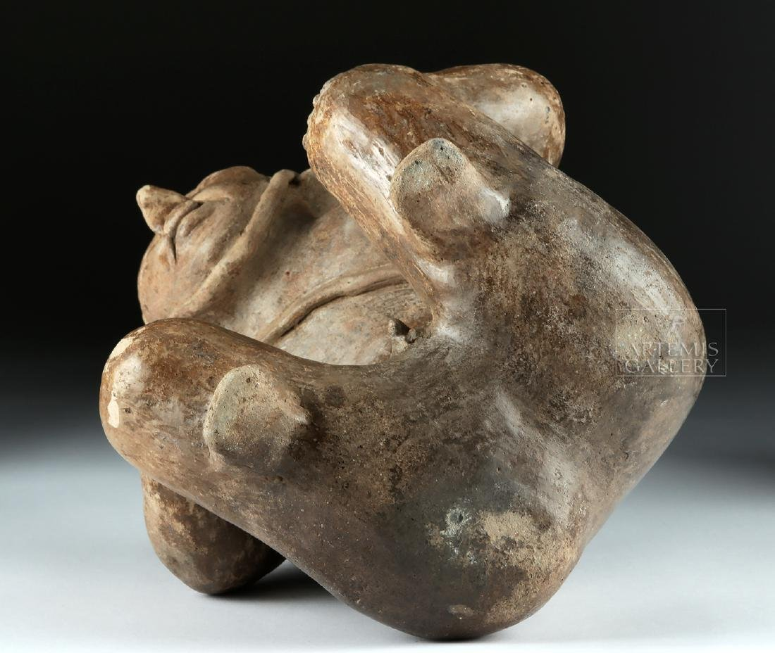 Jalisco Ameca Pottery Figure - Deceased Warrior - 6