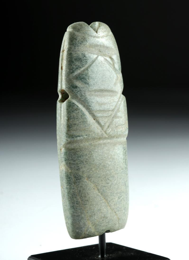 Costa Rican Greenstone Axe God - Avian Figure - 3