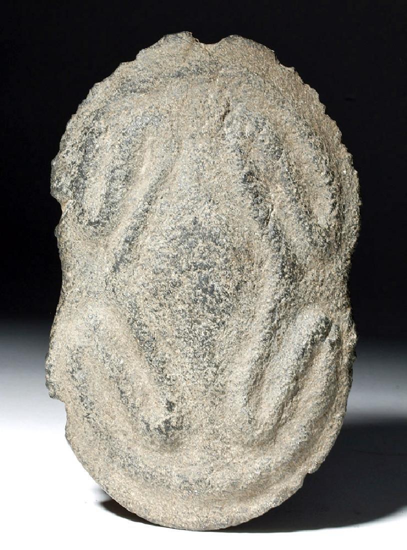 Authentic Taino Ceremonial Stone Axe - Coqui Frogs - 2
