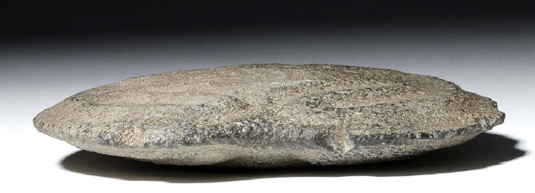 Authentic Taino Ceremonial Stone Axe - Coqui Frogs - 4