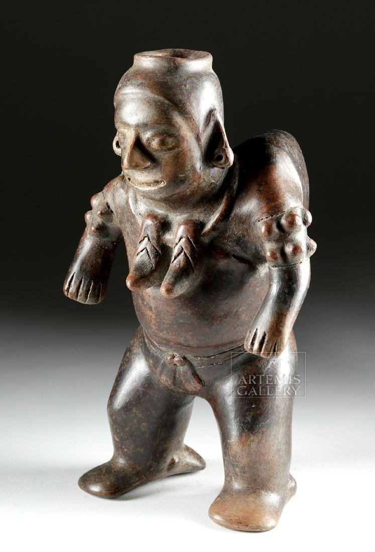 Important Colima Pottery Shaman in Transformation