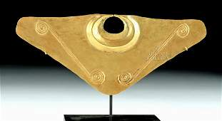 Published Quimbaya 20K Gold Nose Ornament