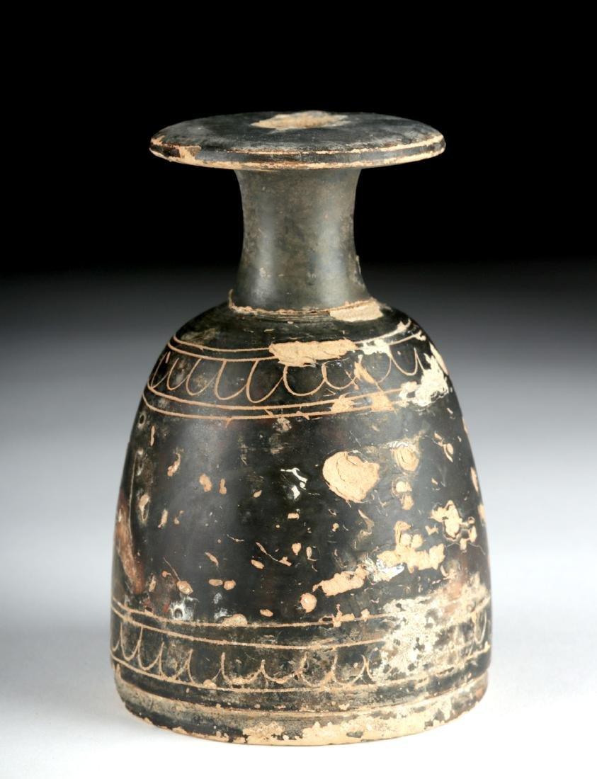 Greek Terracotta Alabastron - Rare Form