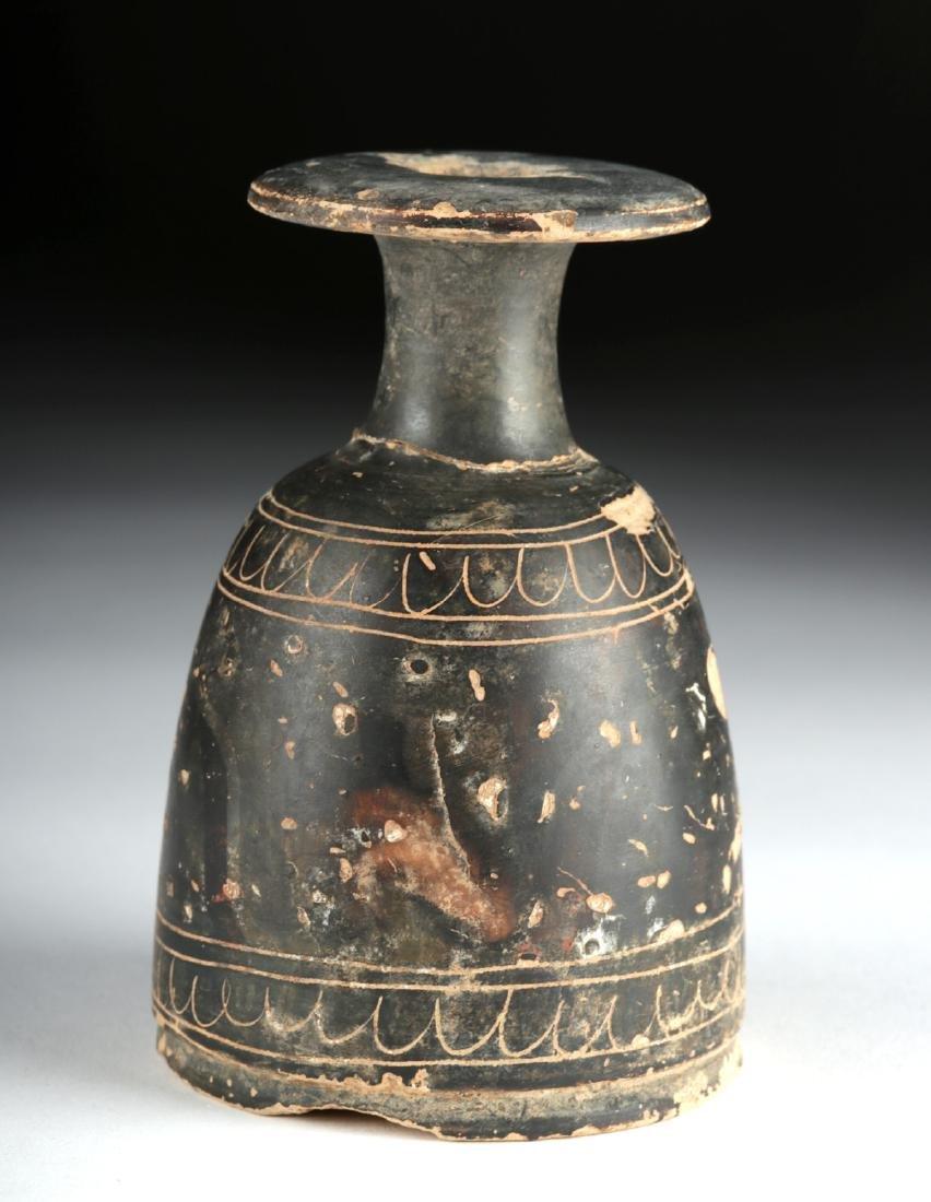 Greek Terracotta Alabastron - Rare Form - 2
