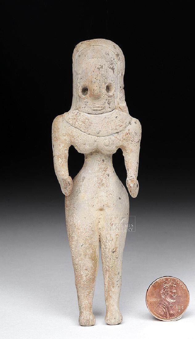 "Large Indus Valley Mehrgarh Ceramic ""Fertility Goddess"" - 6"