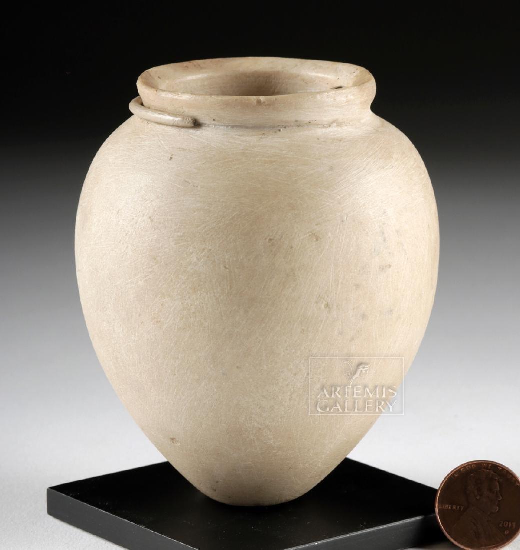 Egyptian Pre-Dynastic Stone Acorn Vessel - 2