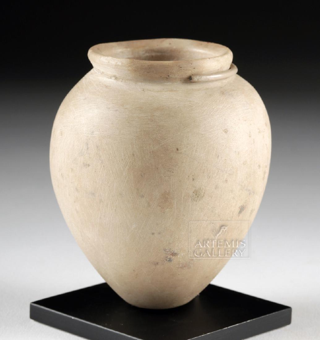 Egyptian Pre-Dynastic Stone Acorn Vessel - 3
