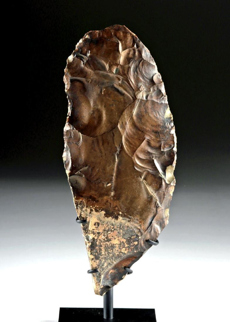 Egyptian Middle Paleolithic Flint Knife