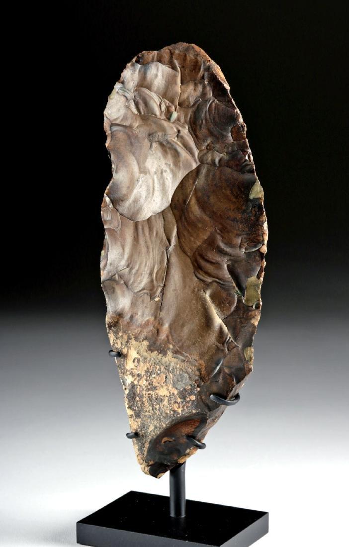 Egyptian Middle Paleolithic Flint Knife - 2