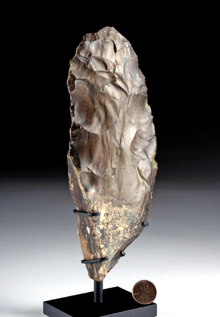 Egyptian Middle Paleolithic Flint Knife - 3