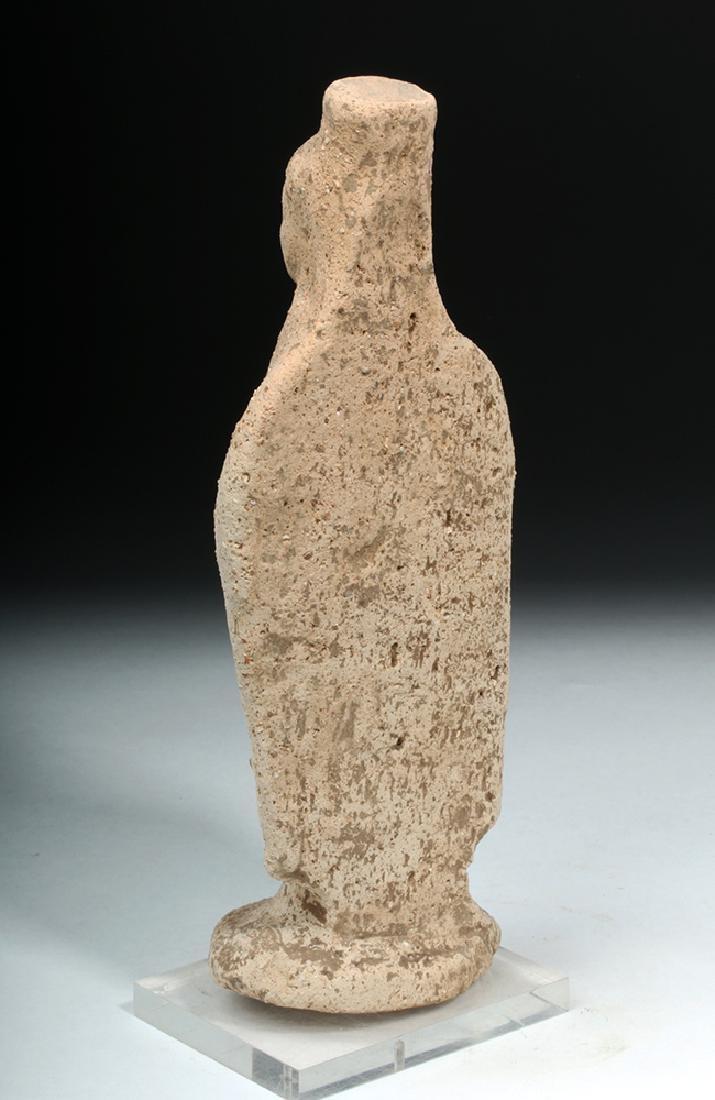 Western Greek Earthenware Standing Kore - Woman - 3