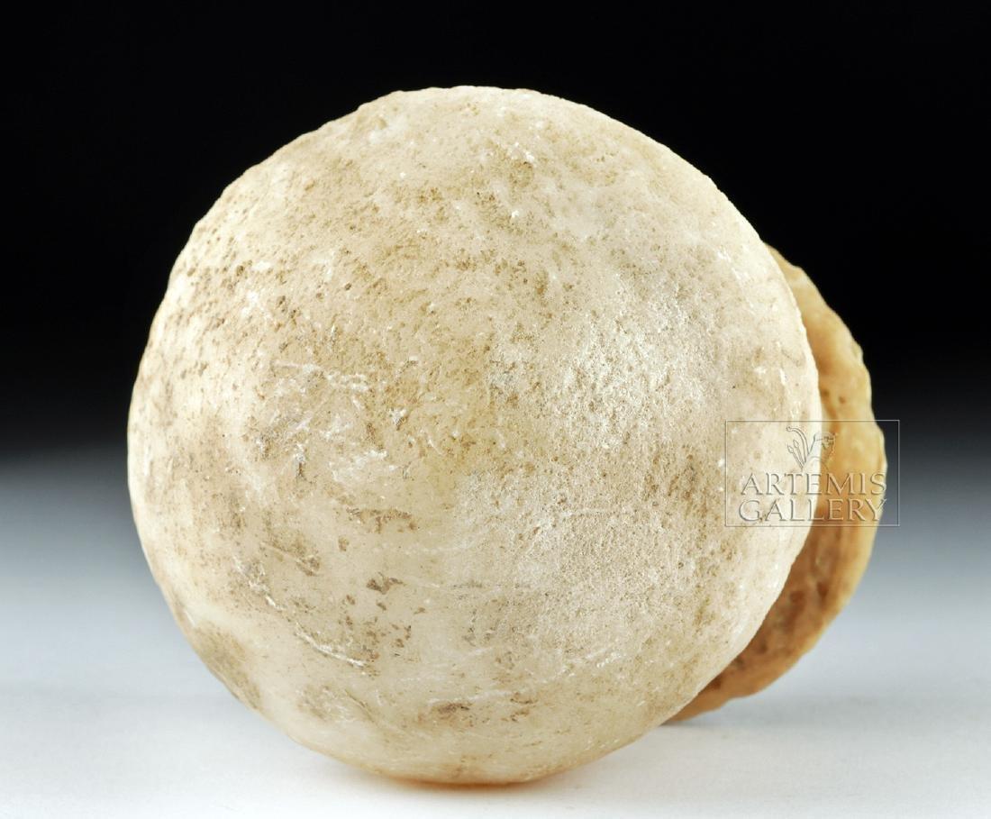 Bactrian / BMAC Globular Alabaster  Jar - 7