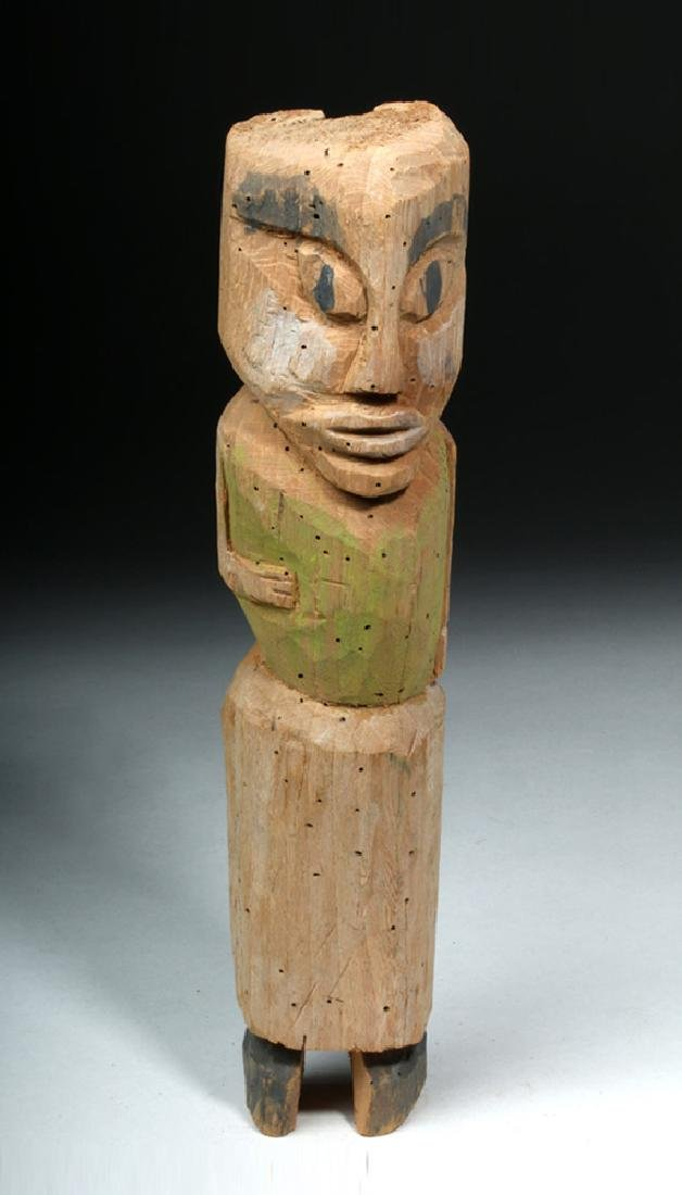 Northwest Coast Nootka / Makah Wood Standing Figure