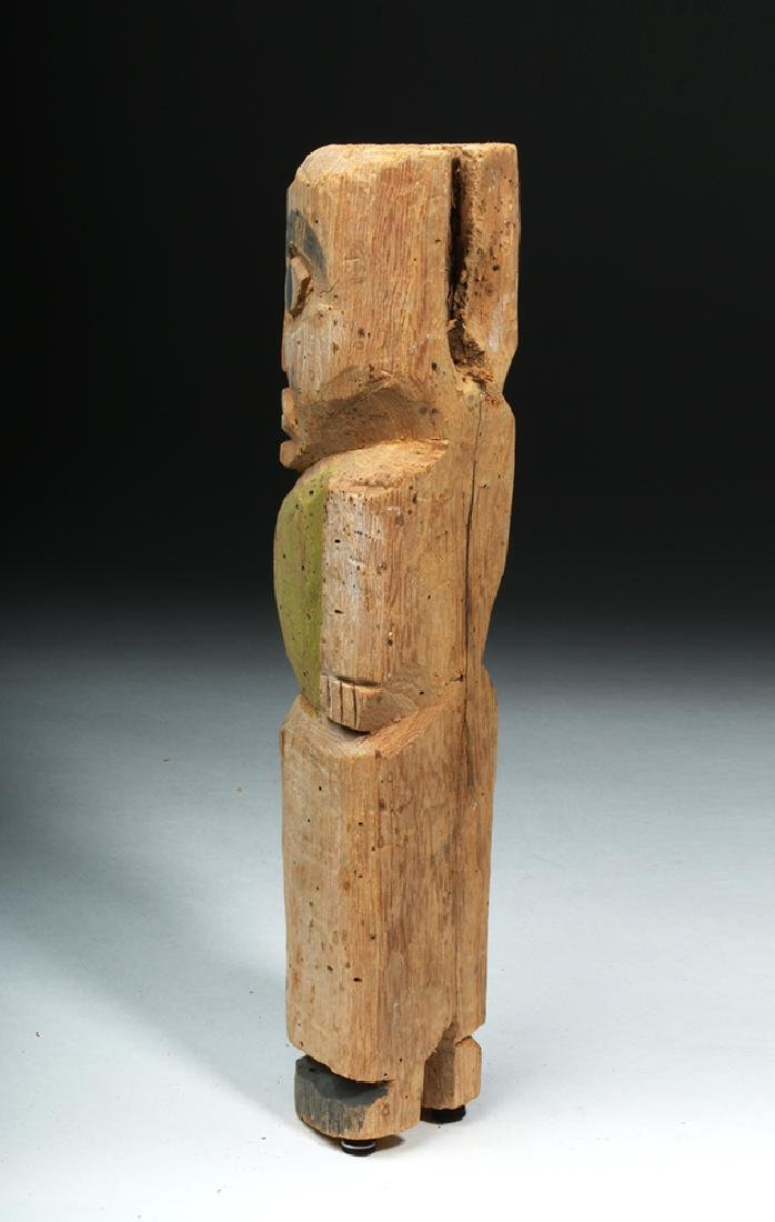 Northwest Coast Nootka / Makah Wood Standing Figure - 3
