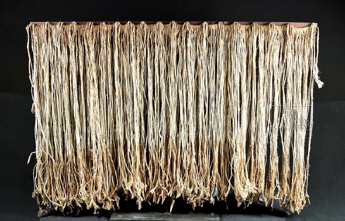 Early 20th C. Tlingit Rope Skirt w/ Puffin Beaks