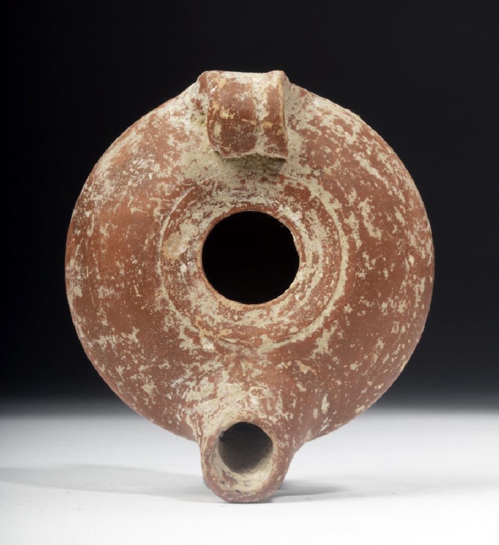 Roman Redware Oil Lamp from Ephesus
