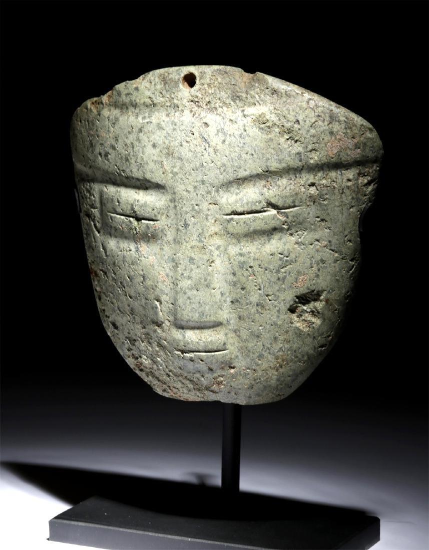 Impressive Guerrero Chontal Greenstone Mask