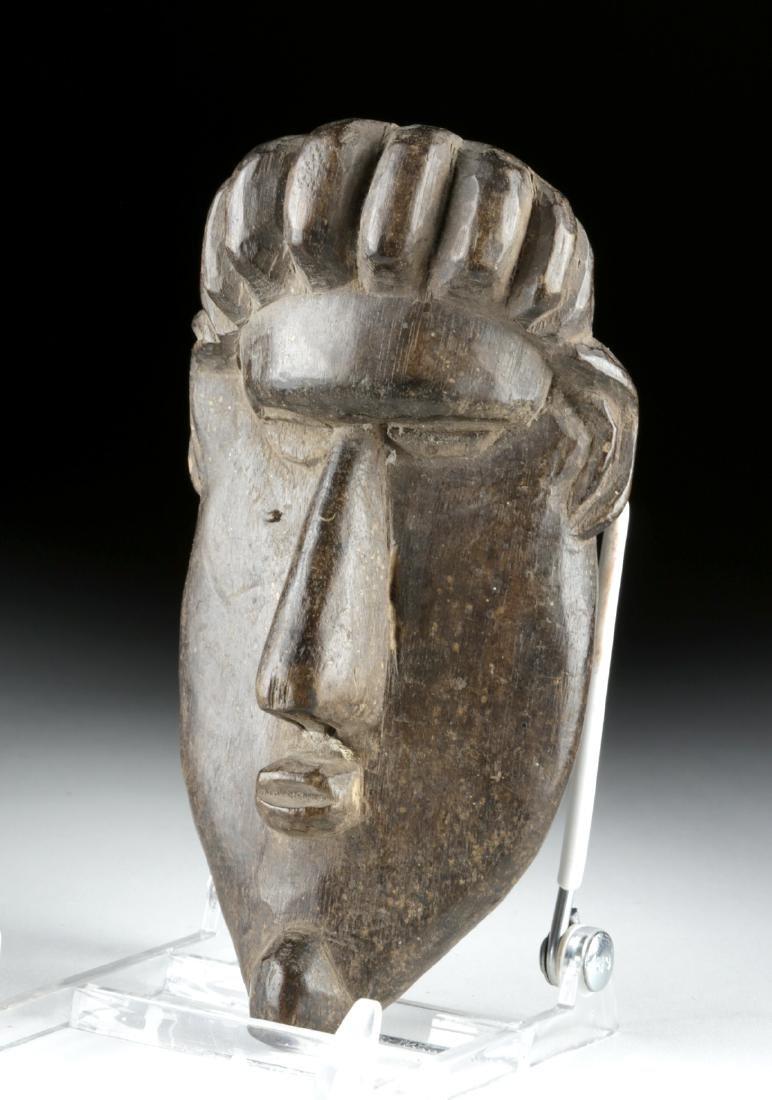 20th C. African Bassa Wood Gela Maskette - 3