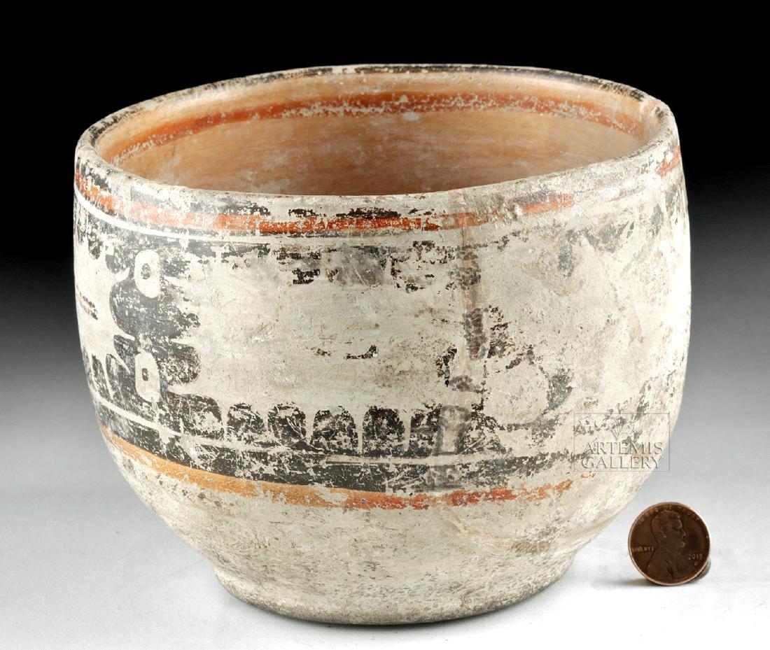 Maya Peten Pottery Codex Bowl - 2