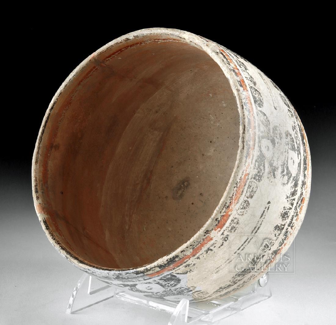 Maya Peten Pottery Codex Bowl - 5