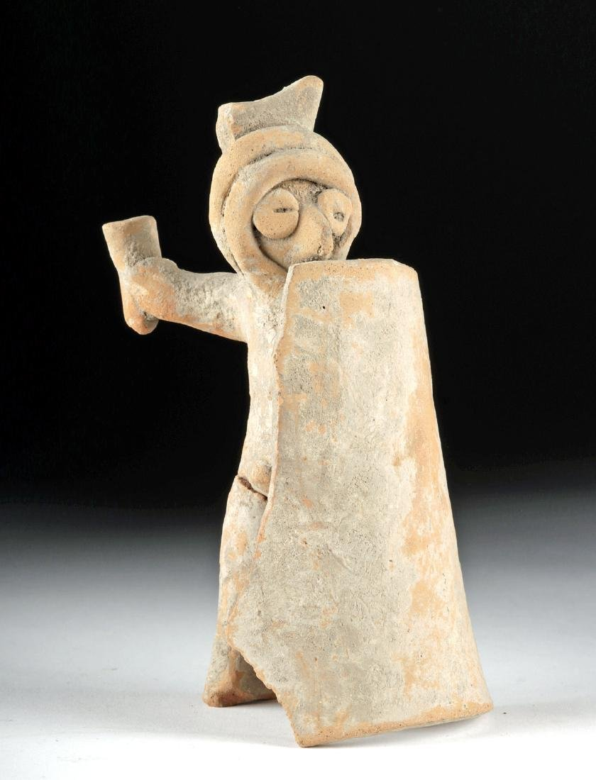 Colima Pottery Warrior Whistle - ex Kahlil Gibran