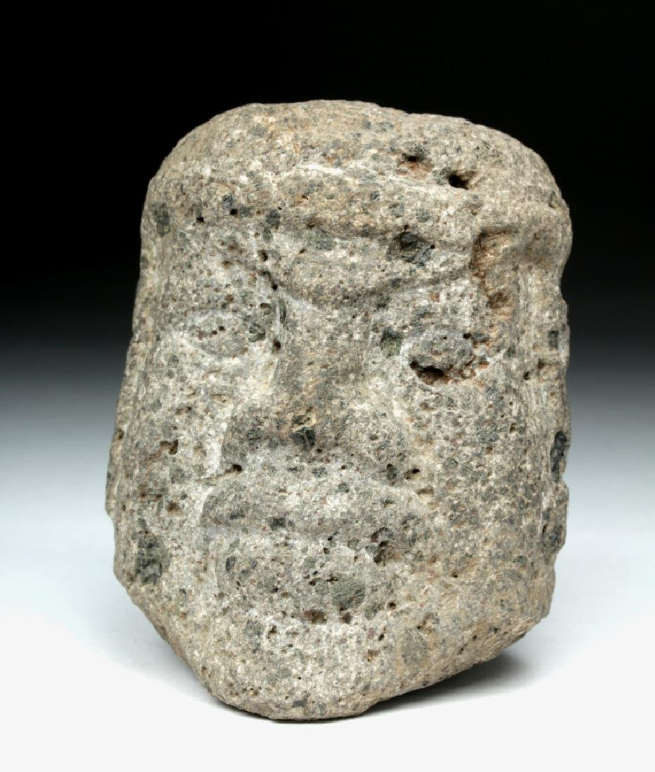Olmecoid Stone Head