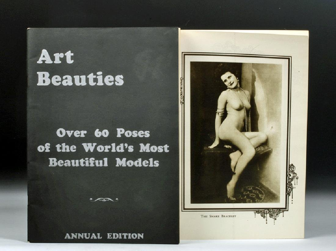 'Art Beauties' Portfolio Annual Edition of Nude Models