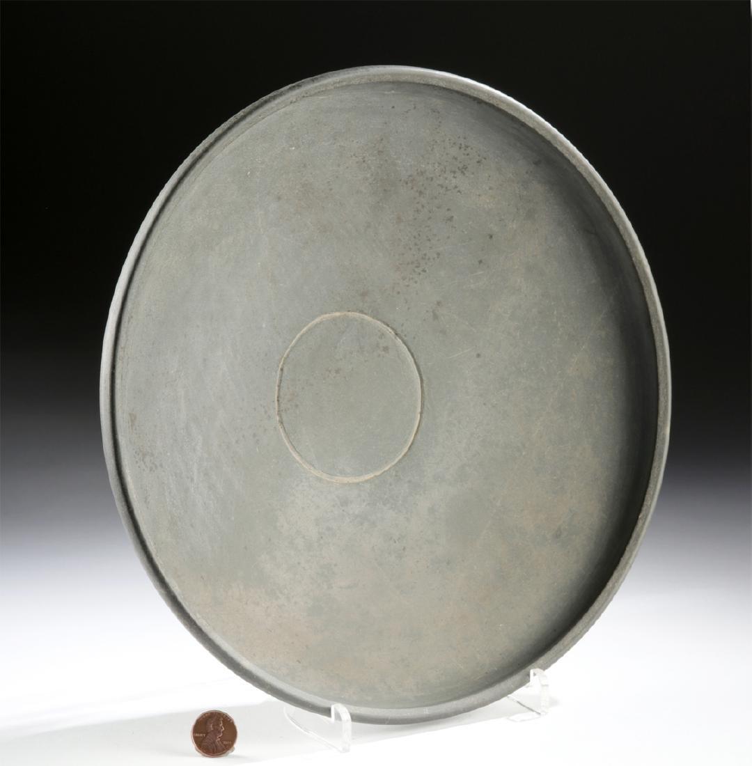 Rare Egyptian Early Dynastic Greywacke Shallow Dish