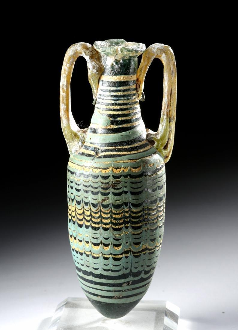 Greek Hellenistic Core-Formed Glass Amphoriskos