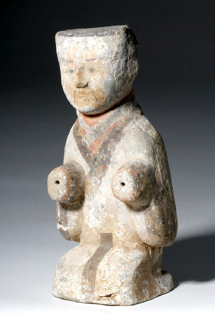 Fine Chinese Han Dynasty Pottery Attendant