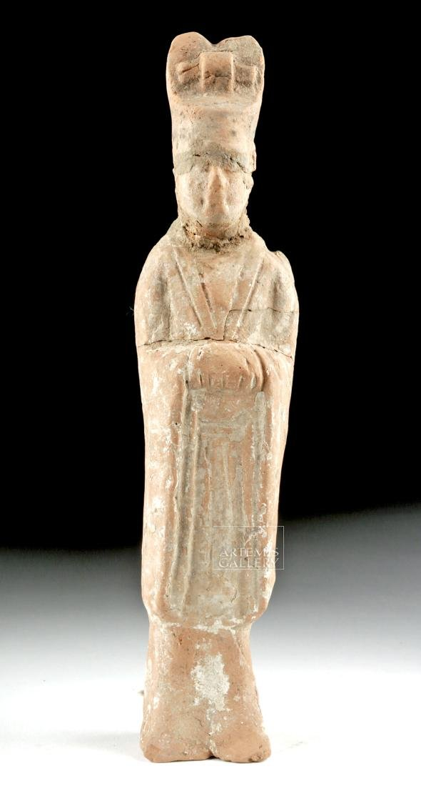Chinese Tang Dynasty Terracotta Tomb Attendant