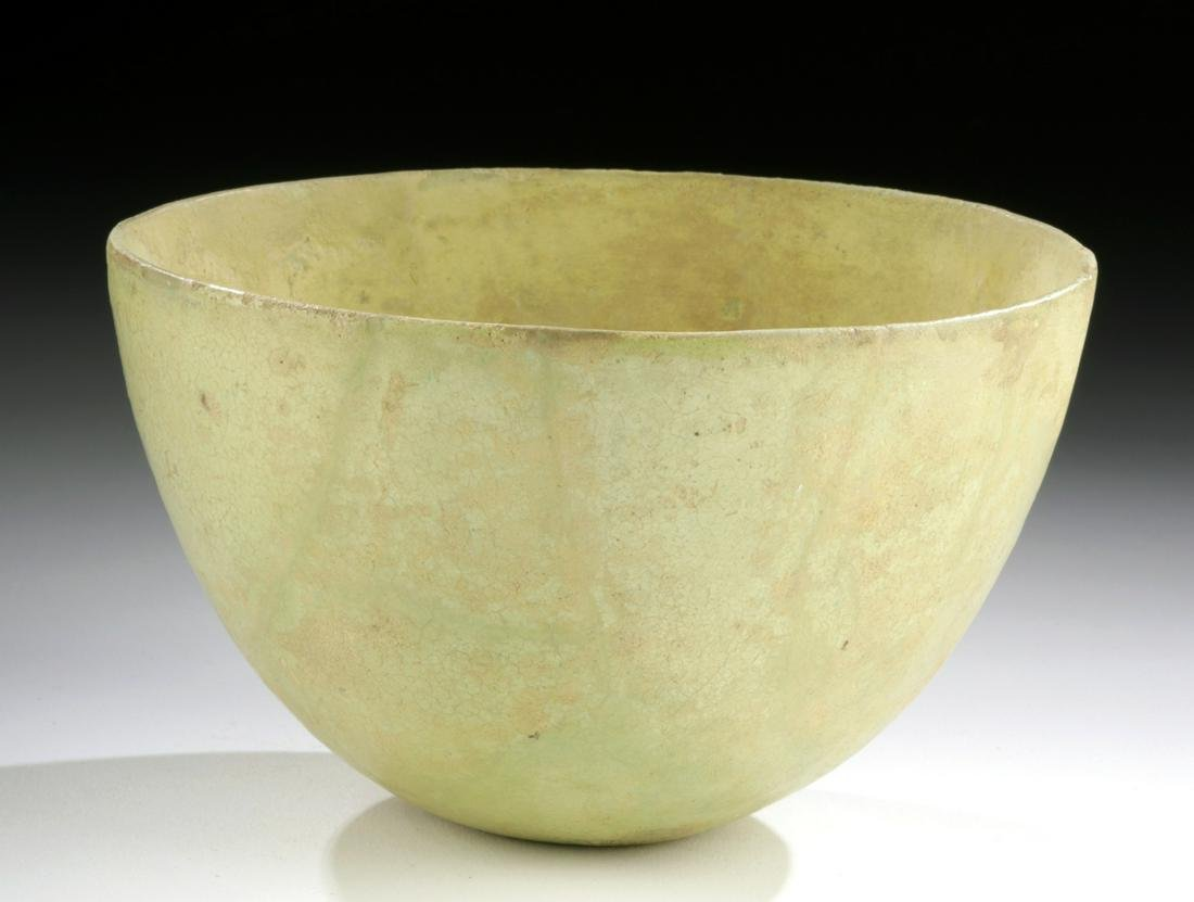 Egyptian Ptolemaic Faience Bowl, ex-Sotheby