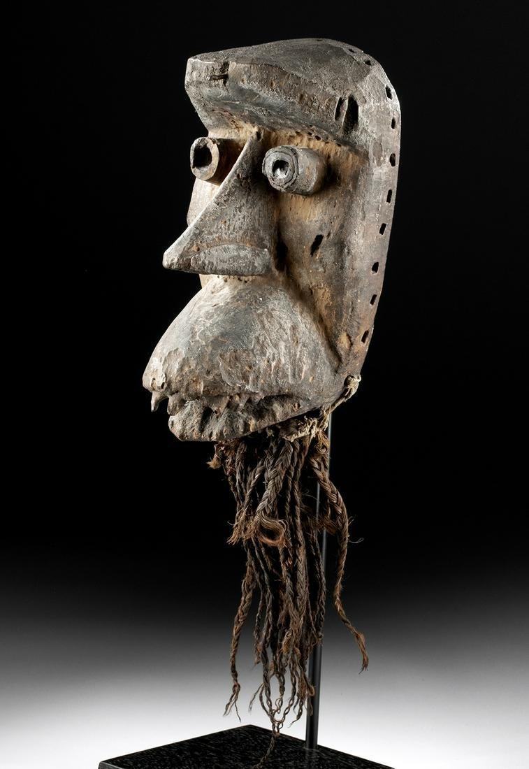 19th C. African Dan / Kran Wood Mask - of a Bagle