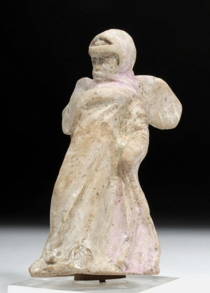 Ancient Canosan Greek Ceramic Winged Nike