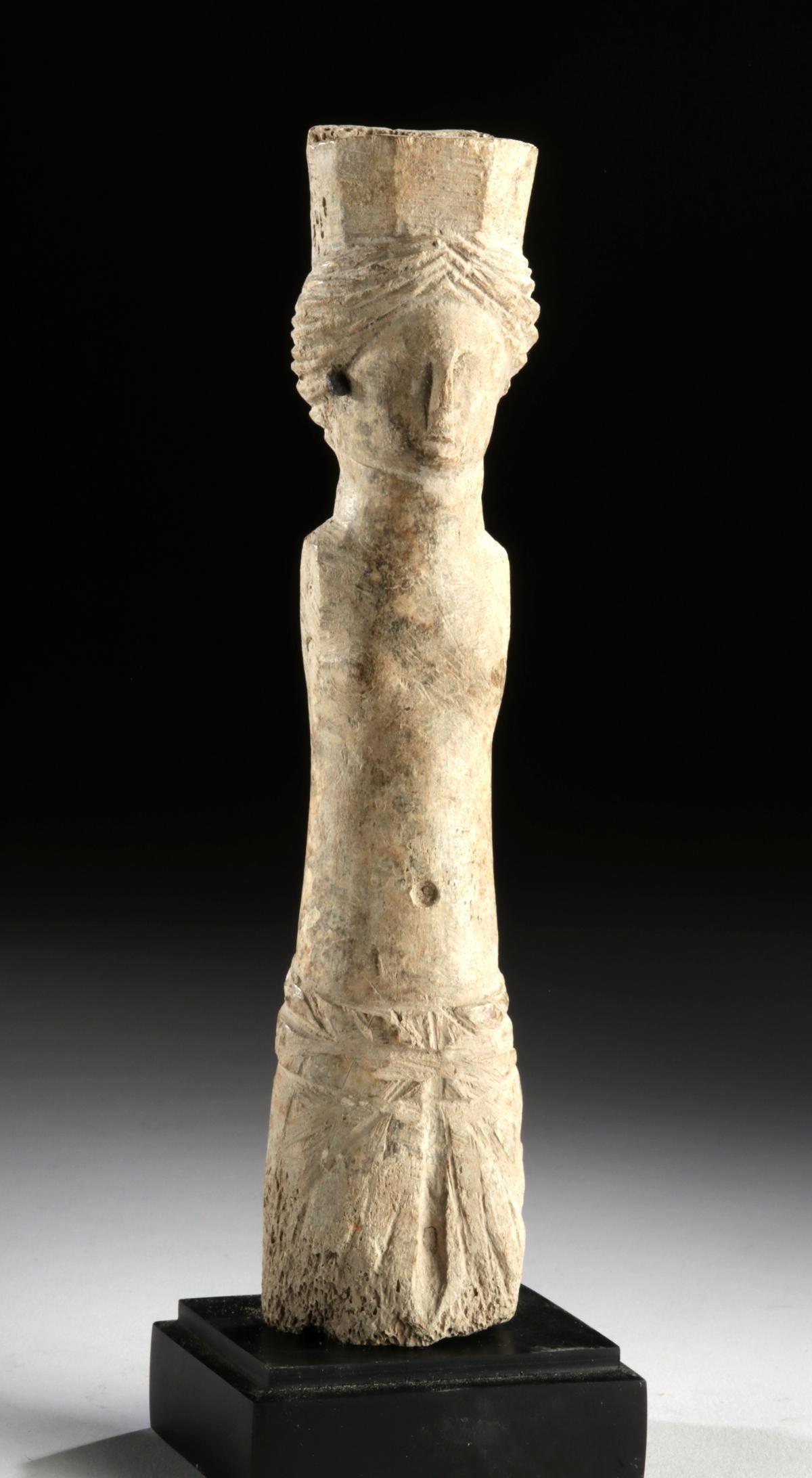 Roman Bone Votive Figure of Venus