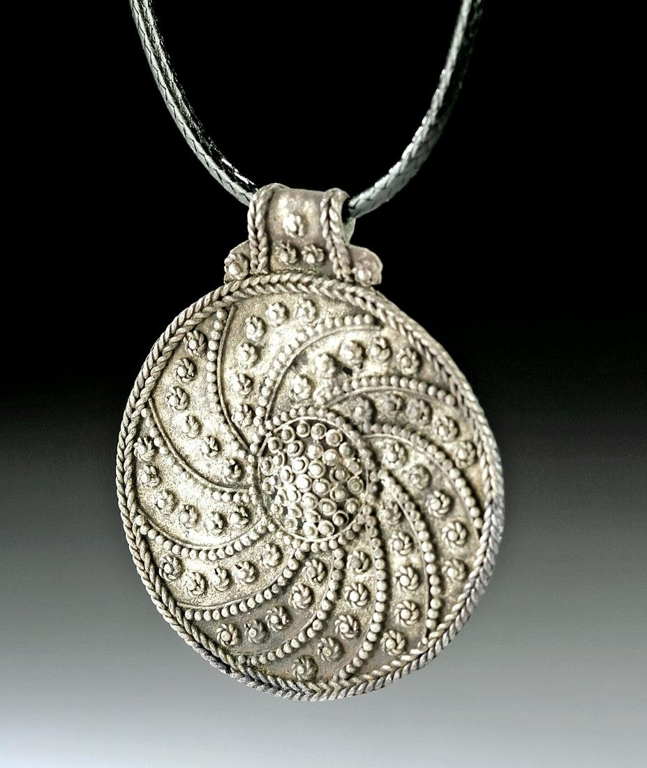 Migration Period / Early Viking Silver Pendant - 3.2 g
