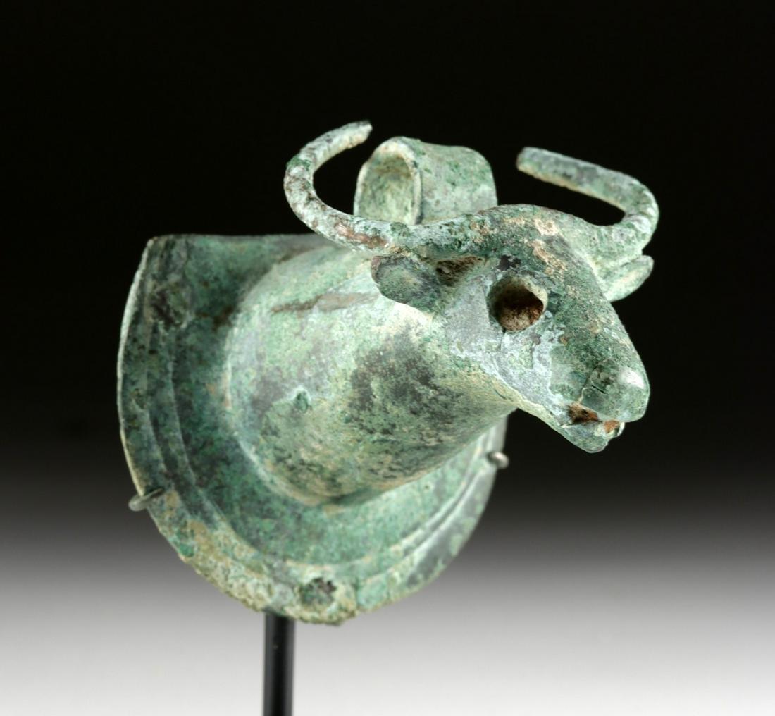 Handsome Anatolian Bronze Bull Protome