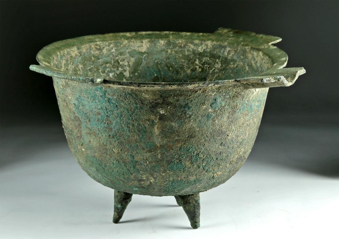 Holyland Byzantine Leaded Bronze Caldron