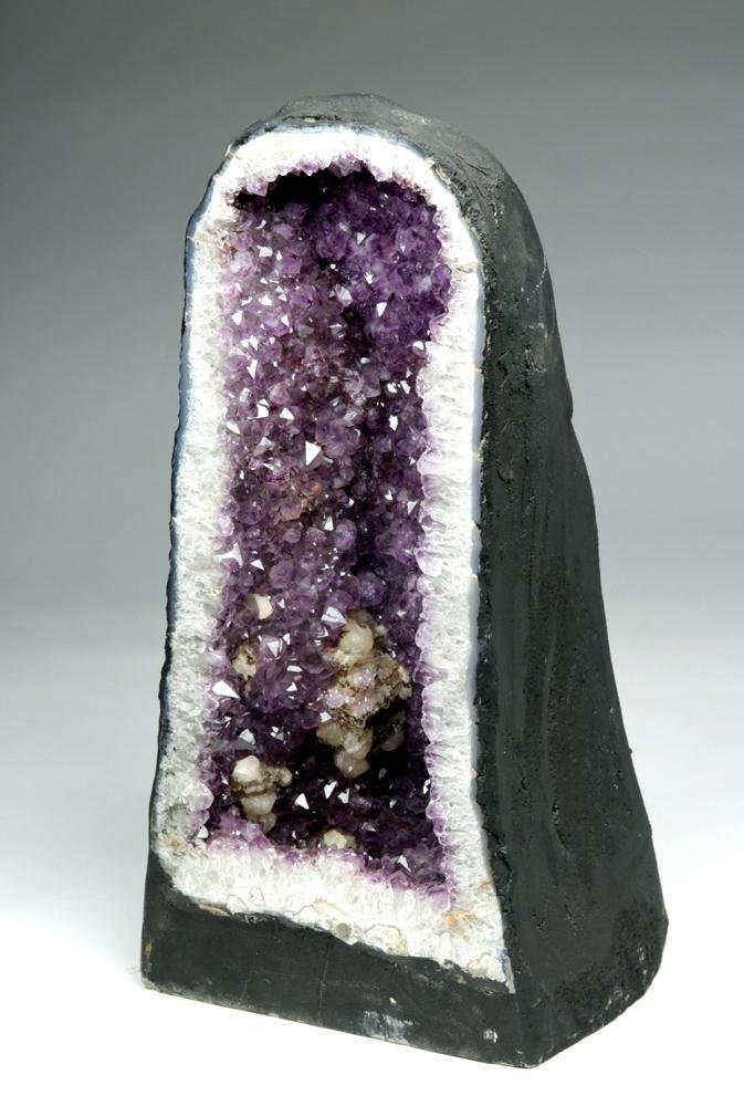 Huge Brazilian Deep Purple Amethyst Geode