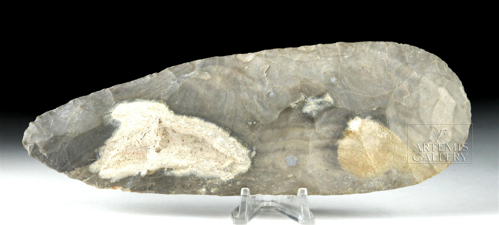 Large / Impressive Maya Basalt Hand Axe
