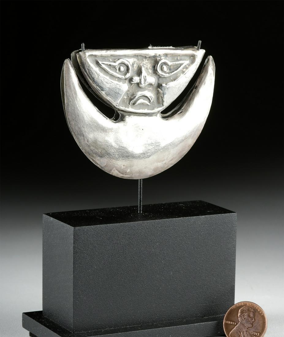 Sican Silver Tweezer - Crescent Moon & Naylamp