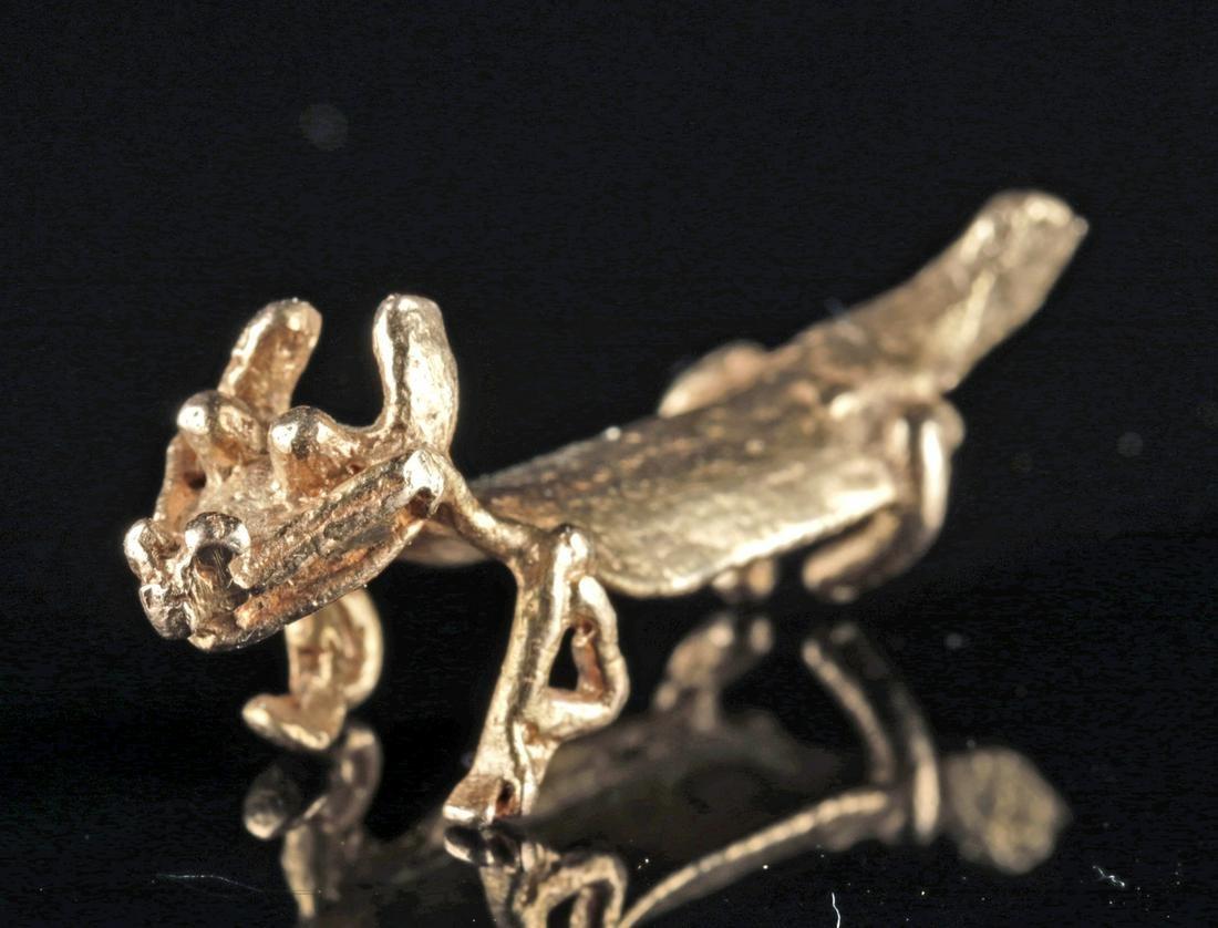 Panamanian Cocle Gold Animal Pendant
