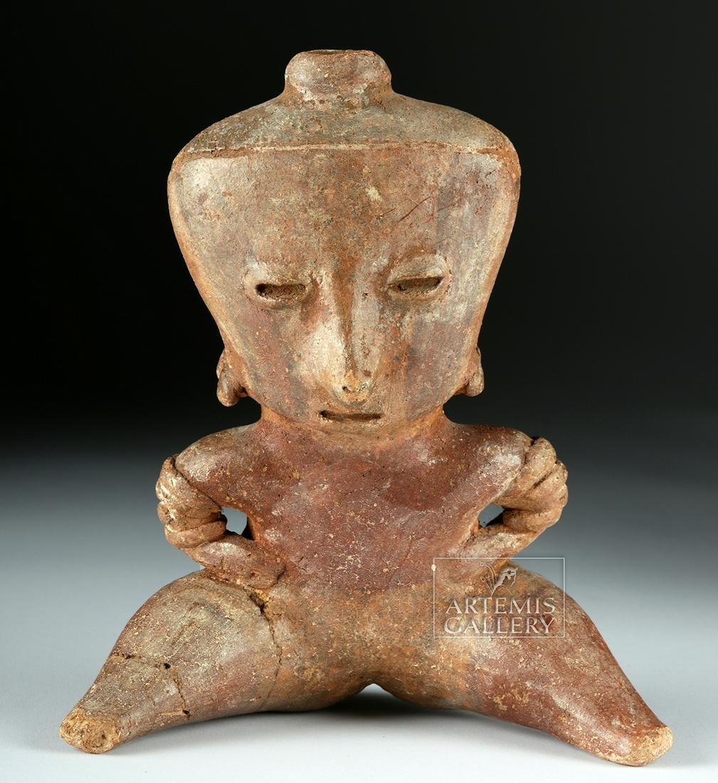 Nayarit Chinesco Pottery Seated Female