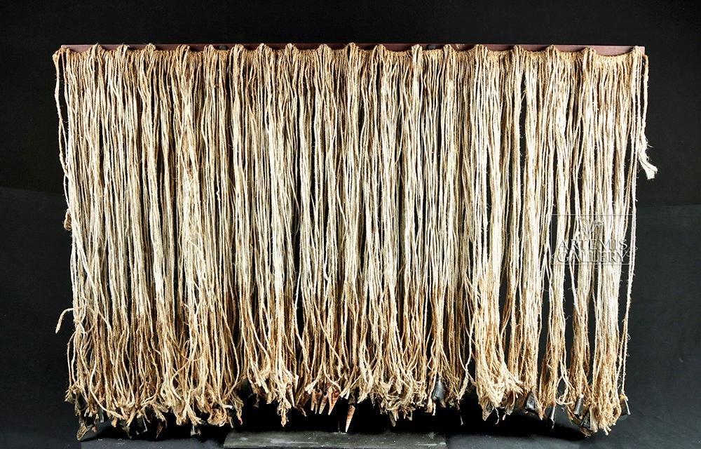 Early 20th C. Tlingit Rope Skirt w/ Deer Hooves