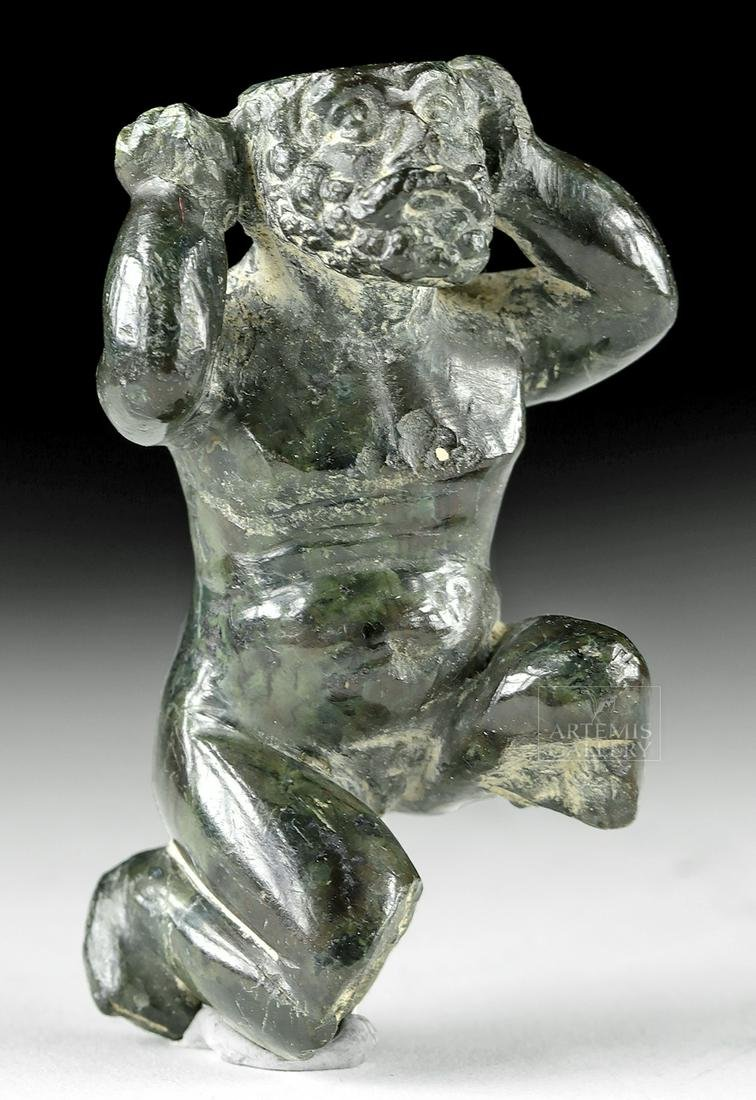 14th C. Italian Renaissance Stone Figure - Atlas