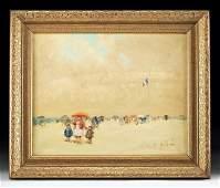 Framed  Signed Andre Gisson Impressionist Painting