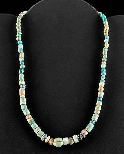 Romano Egyptian Glass Bead Necklace