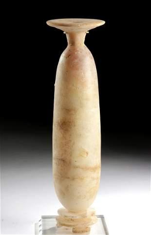 Rare Tall Archaic Greek Footed Alabastron